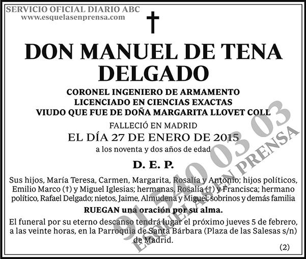 Manuel de Tena Delgado